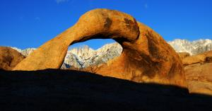 Mobius Arch Morning Light